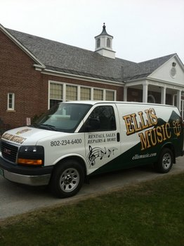 Ellis Music van