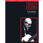 20 Studies for the Guitar by Fernando Sor