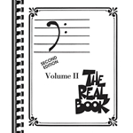 The Real Book Volume 2 - Bass Clef Edition