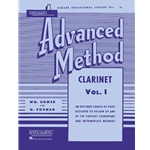 Rubank Advanced Method - Clarinet Volume 1
