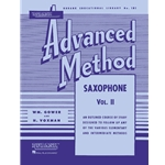 Rubank Advanced Method - Saxophone Volume 2
