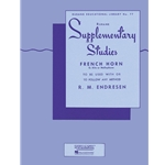 Rubank Supplementary Studies for French Horn