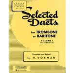 Selected Duets for Trombone or Baritone, Volume 1 (Easy-Medium)