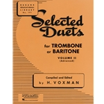 Selected Duets for Trombone or Baritone, Volume 2 (Advanced)