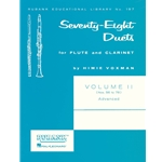 78 Duets for Flute and Clarinet, Volume 2