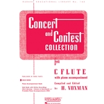 Concert and Contest Collection for Flute (Solo Book)