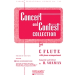 Piano Accompaniment for Concert and Contest Flute Book