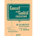 Concert and Contest Collection for Bb Clarinet (Solo Book)