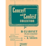 Piano Accompaniment for Concert and Contest Bb Clarinet Book