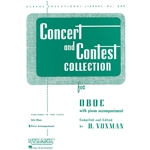 Piano Accompaniment for Concert and Contest Oboe Book