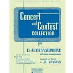 Concert and Contest Collection for Alto Saxophone (Solo Book)