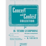 Concert and Contest Collection for Tenor Saxophone (Solo Book)