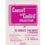 Concert and Contest Collection for Trumpet or Baritone Treble Clef (Solo Book)