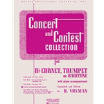 Piano Accompaniment for Concert and Contest Trumpet for Baritone Horn TC/BC Book