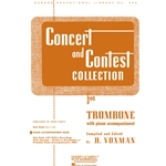 Piano Accompaniment for Concert and Contest Trombone Book