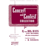 Concert and Contest Collection for Eb or BBb Tuba (Solo Book)