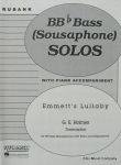 HOLMES - Emmett's Lullaby for Tuba with Piano Accompaniment