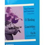 RIEDING - Concertino in G, Op. 24 for Violin & Piano