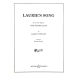 COPLAND - Laurie's Song (from The Tender Land) for Voice and Piano