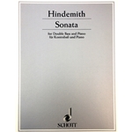 HINDEMITH - Sonata for Double Bass & Piano