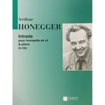 HONEGGER - Intrada for Trumpet (in C) with Piano Accompaniment
