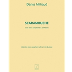 MILHAUD - Scaramouche for Alto Saxophone and Piano