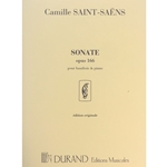 SAINT-SAENS - Sonate (Sonata), Op. 166 for Oboe & Piano