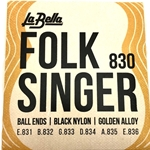 La Bella Nylon Ball-End Acoustic Guitar String Set