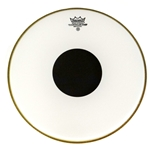 "Remo Controlled Sound 13"" Batter Head, Smooth White Black Dot"