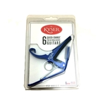 Kyser 6-String Guitar Quick -Change Capo, Blue