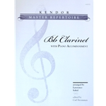 Kendor Master Repertoire for Bb Clarinet with Piano Accompaniment