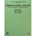 HANDEL - Third Handel Sonata for Marimba and Piano