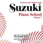 Suzuki Piano School CD Recording - Volume 7