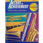 Accent on Achievement - Alto Saxophone, Book 1