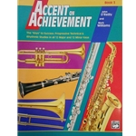 Accent on Achievement - Tenor Saxophone, Book 3