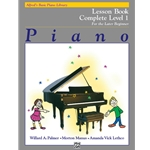 Alfred's Basic Piano Course: Lesson Book Complete Level 1 (1A/1B)