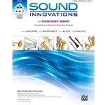 Sound Innovations for Concert Band - Alto Saxophone, Book 1