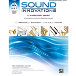 Sound Innovations for Concert Band - Baritone Bass Clef, Book 1