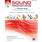 Sound Innovations for Concert Band - Trombone, Book 2