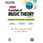 Essentials of Music Theory Software Complete Student Version CD-ROM