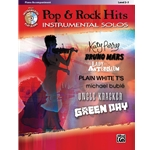 Pop & Rock Hits Instrumental Solos - Piano Accompaniment