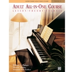 Alfred's Basic Adult All-in-One Piano Course, Book 1