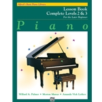 Alfred's Basic Piano Course: Lesson Book Complete Levels 2 & 3