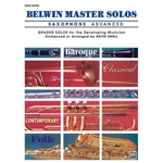 Belwin Master Solos for Saxophone, Volume 1 Advanced Solo Book