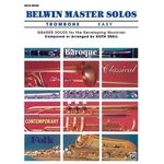 Belwin Master Solos for Trombone, Volume 1 Easy Solo Book