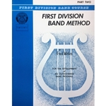 First Division Band Method - Baritone Treble Clef, Part 2