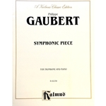 GAUBERT - Symphonic Piece for Trombone & Piano