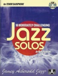 16 Moderately Challenging Jazz Solos for Tenor Saxophone