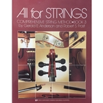All for Strings - Piano Accompaniment, Book 3