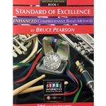 Standard of Excellence Enhanced - Timpani & Auxiliary Percussion, Book 1